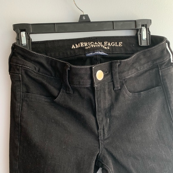 American Eagle Outfitters Denim - American Eagle Black Super Stretch X Jegging